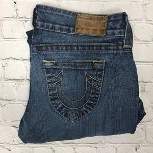 True Religion boot cut jeans sz 28